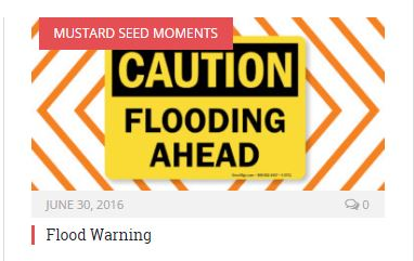 Flood warning promo